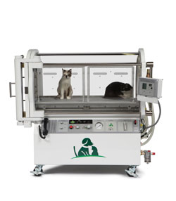SV250 Veterinary Hyperbaric Oxygen and ICU Chamber